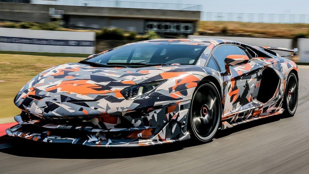 Lamborghini представит сверхмощный Aventador SVJ 1