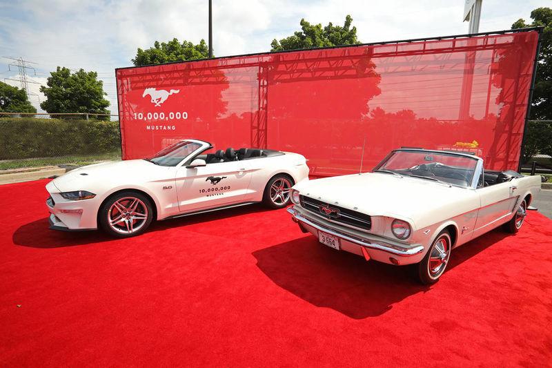 Ford выпустил 10-миллионный Mustang 1