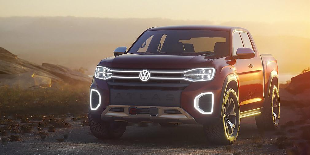 Volkswagen может выпустить большой пикап 3
