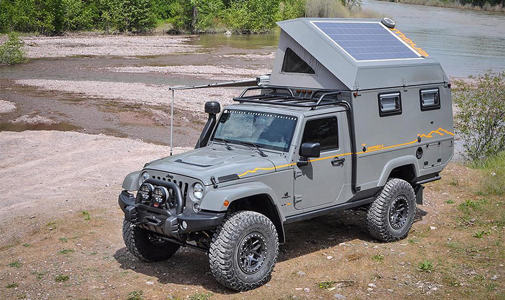 Jeep Wrangler превратили в дом на колесах повышенной проходимости 1