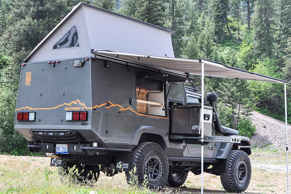 Jeep Wrangler превратили в дом на колесах повышенной проходимости 2