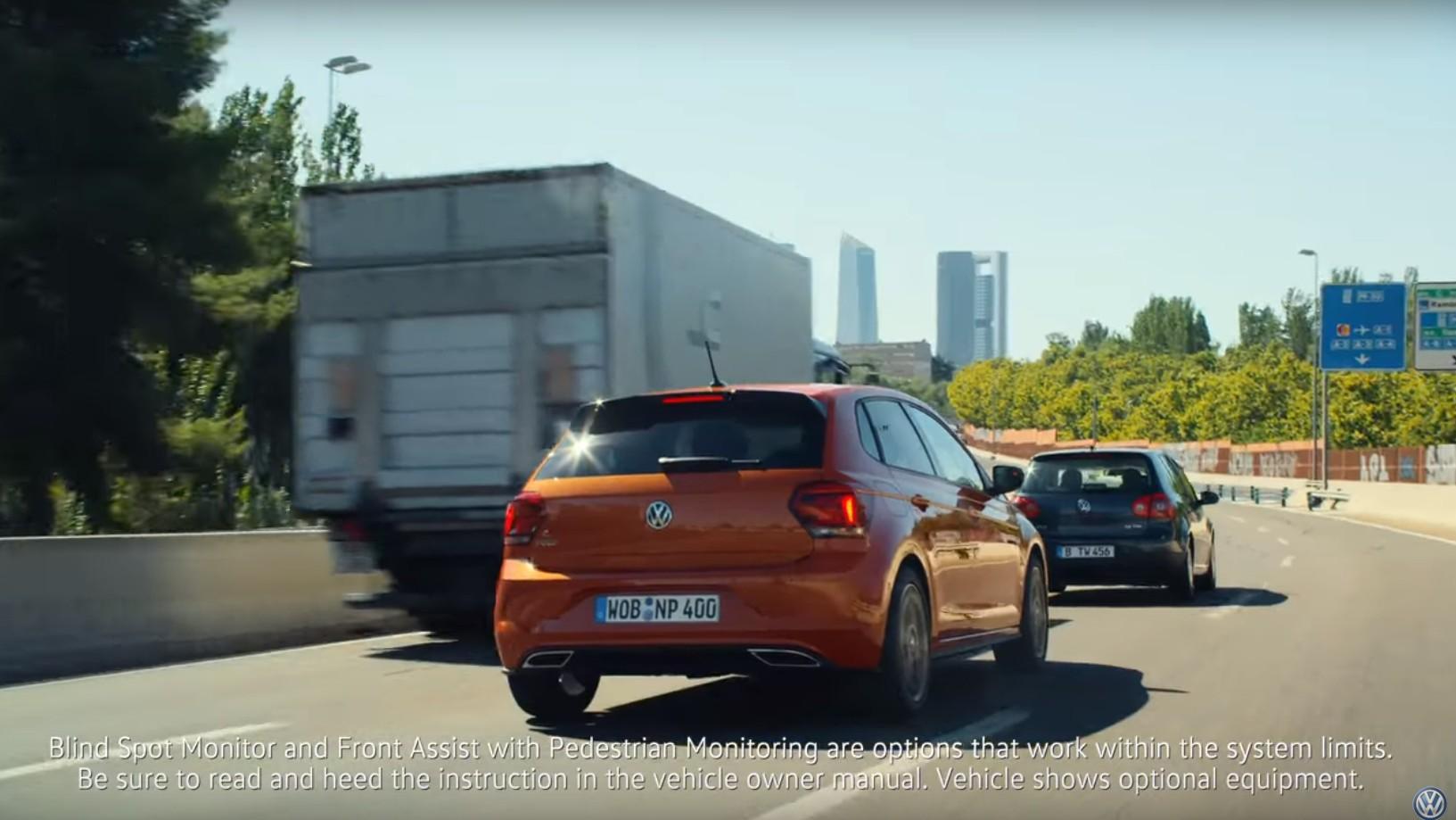 Рекламу VW Polo запретили «из-за поощрения безрассудного вождения» 1