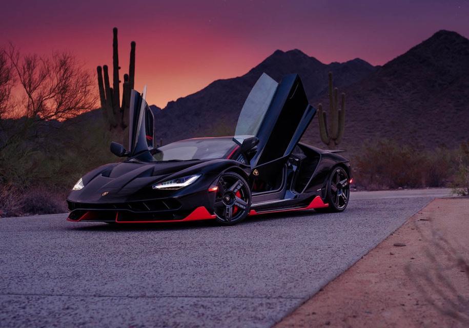 Редкий Lamborghini, выпущенный к 100-летию основателя марки, пустят с молотка 1