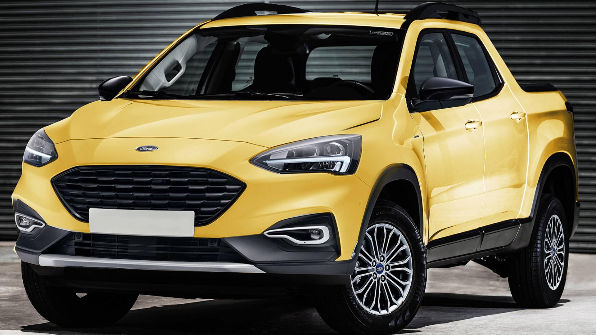 Ford Focus станет пикапом 1