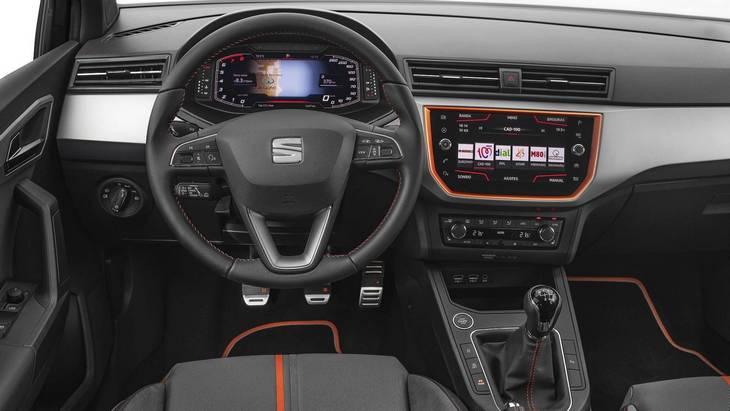 SEAT добавил цифровой кокпит для моделей Ibiza и Arona 1