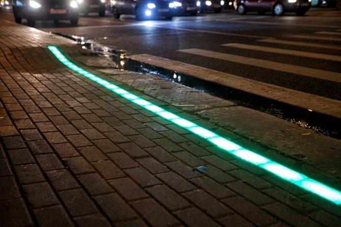 В Литве появились «лежачие» светофоры 1