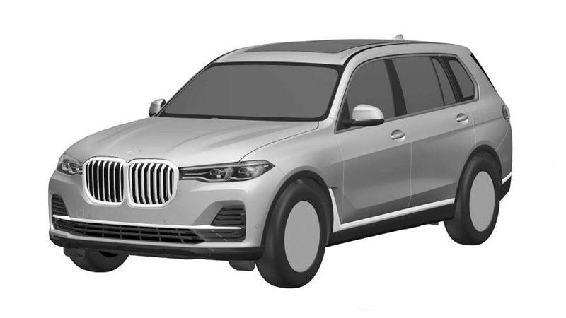 Опубликованы первые изображения BMW X7 1