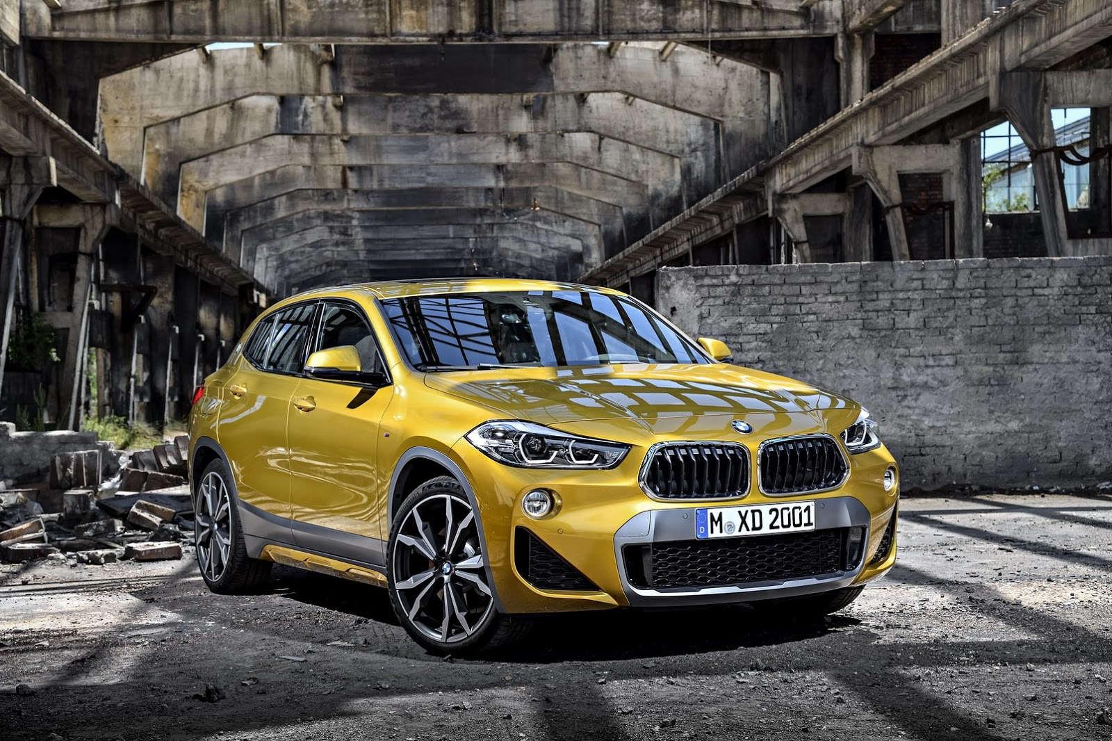 BMW X2 не смог получить высший рейтинг безопасности из-за подголовников 1