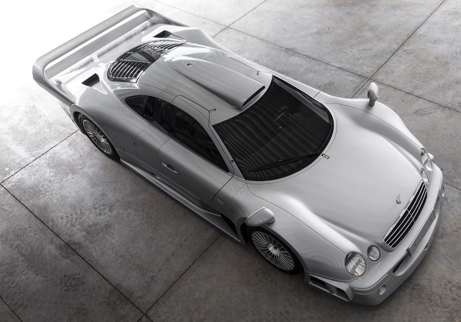Дорожный спортпрототип Mercedes-Benz AMG CLK GTR выставят на торги 1
