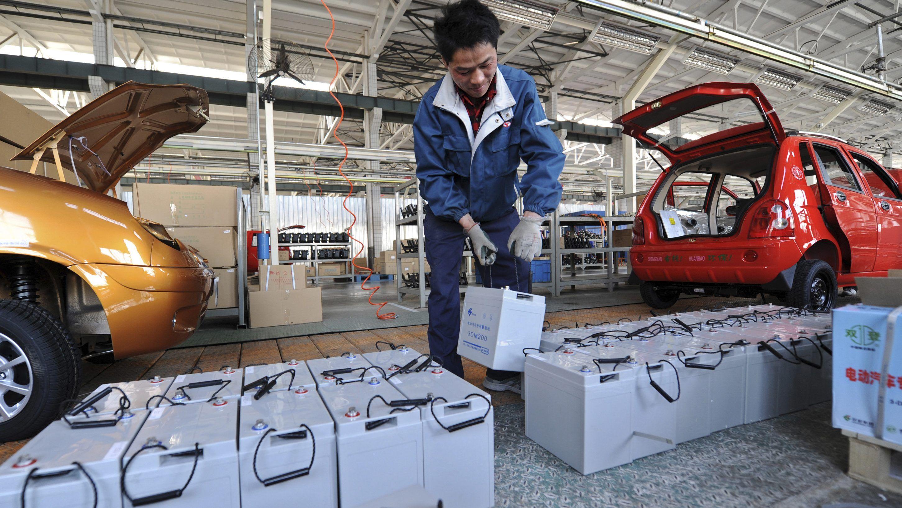 Китай шокировал количеством производителей электромобилей 1