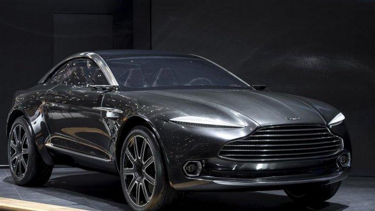 Aston Martin подтвердил запуск кроссовера DBX в 2019 году 1