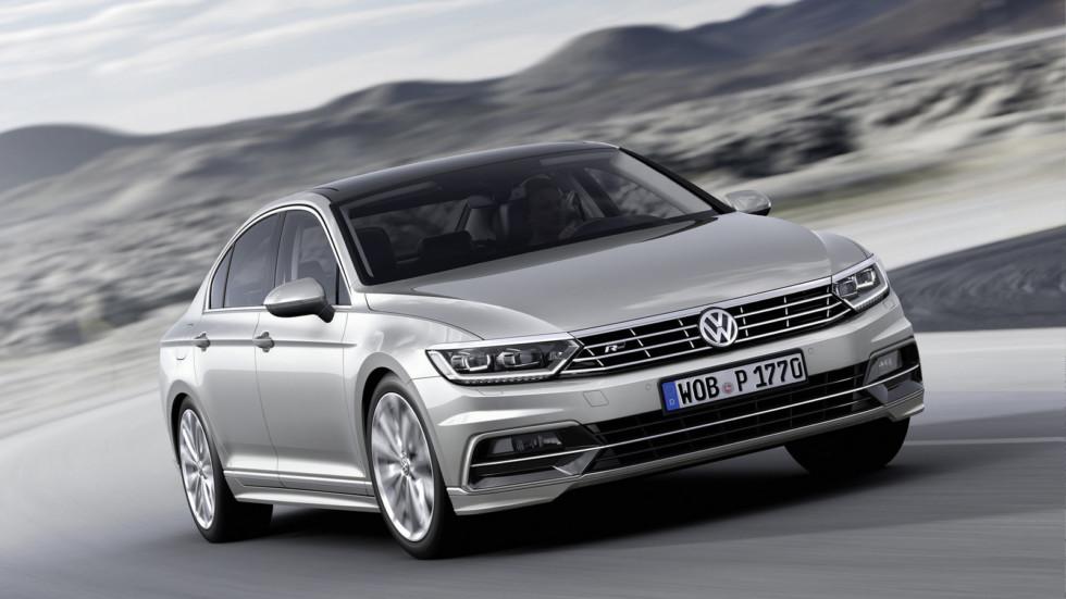 Сразу пять моделей Volkswagen в рейтинге самых популярных автомобилей Германии 2