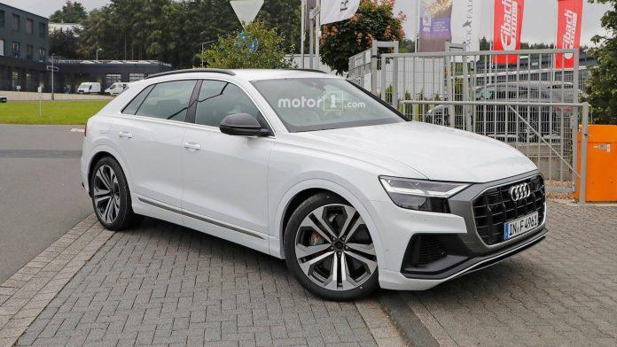 Audi SQ8 замечен в Нюрбургринге 1