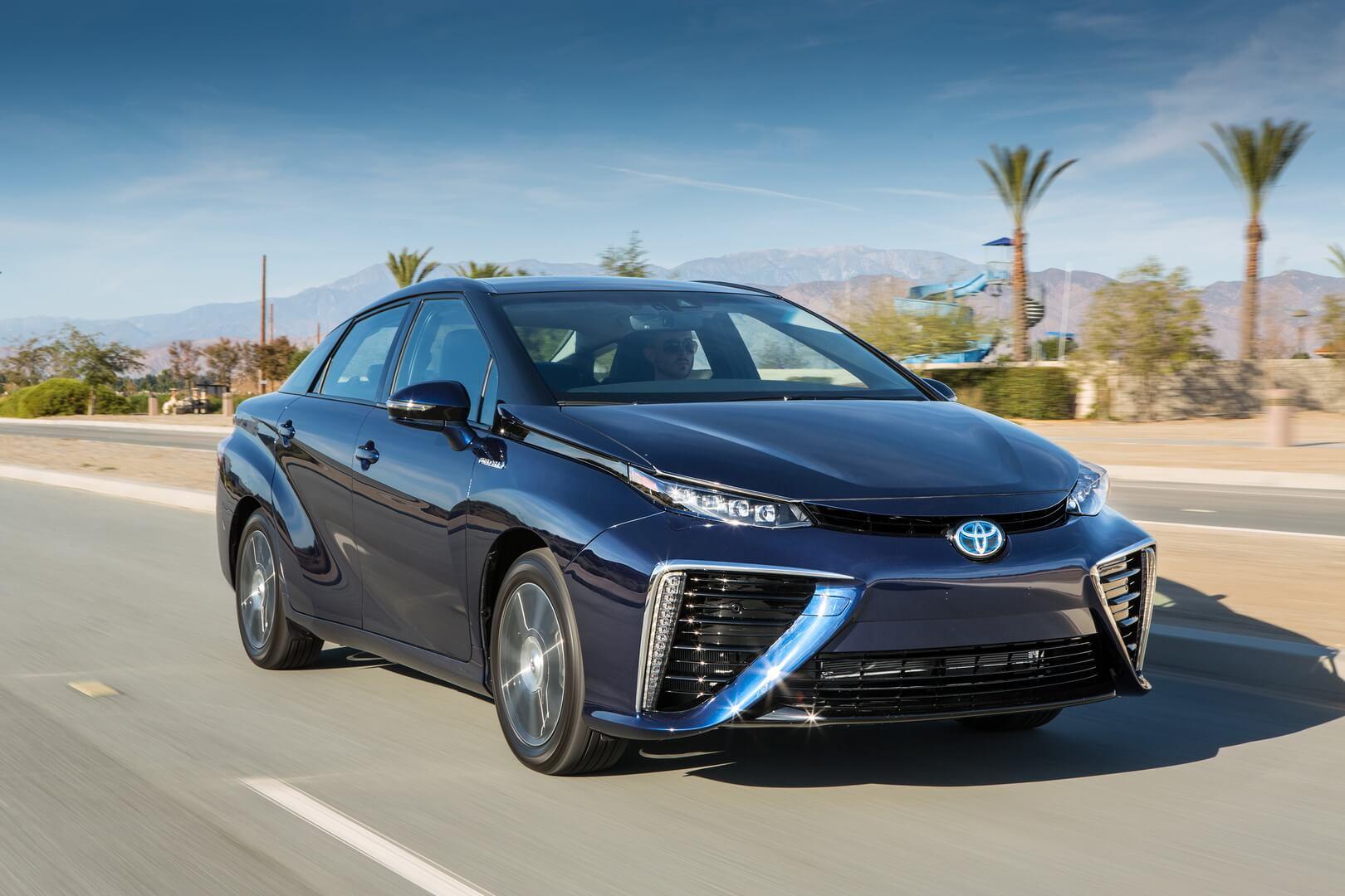 В Toyota верят, что водородные автомобили вытеснят электрокары 1