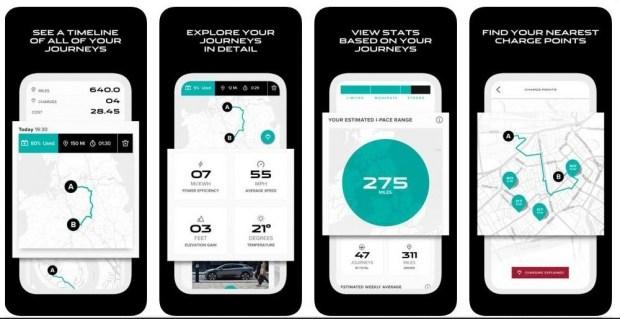Jaguar создал приложение, которое подсчитывает реальную выгоду от езды на электромобиле I-PACE 1