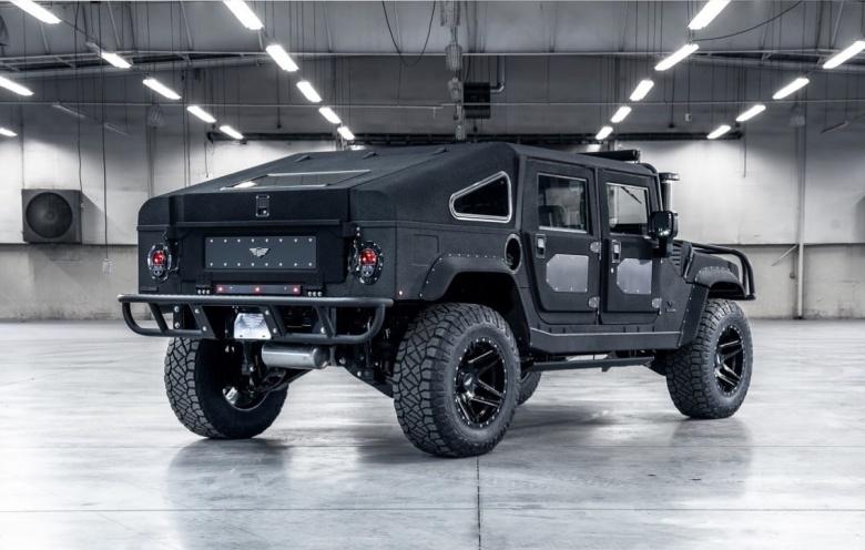 Армейский Hummer H1 получил «гражданскую» версию 2
