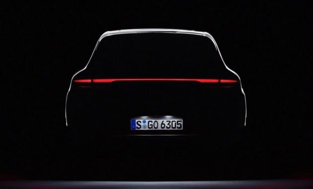 Опубликован финальный тизер обновленного Porsche Macan 1
