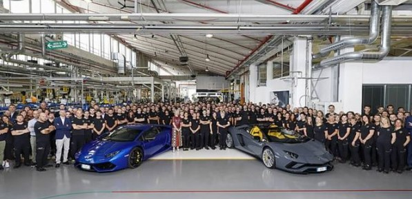 Компания Lamborghini установила новый рекорд продаж 1