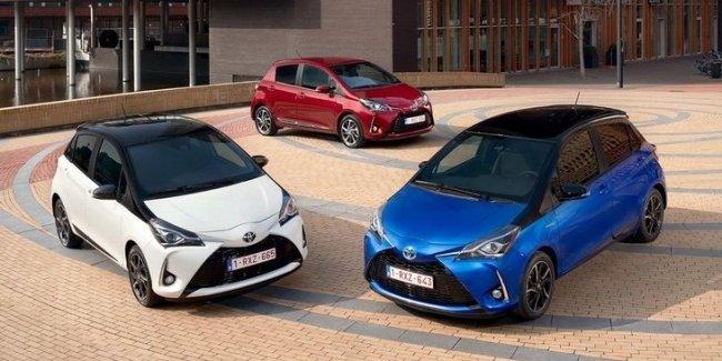 Гибридные модели составляют почти половину проданных в Европе Toyota 1