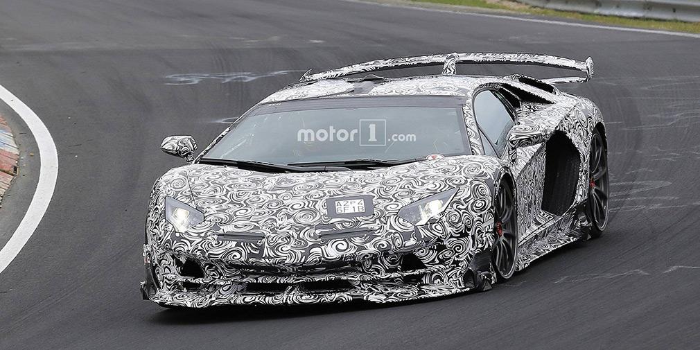 Сверхмощный Lamborghini Aventador SVJ показали на видео 1