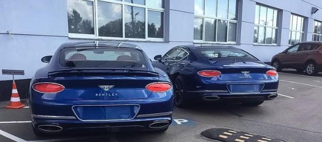 В Украине замечен новейший Bentley Continental GT 2018 1