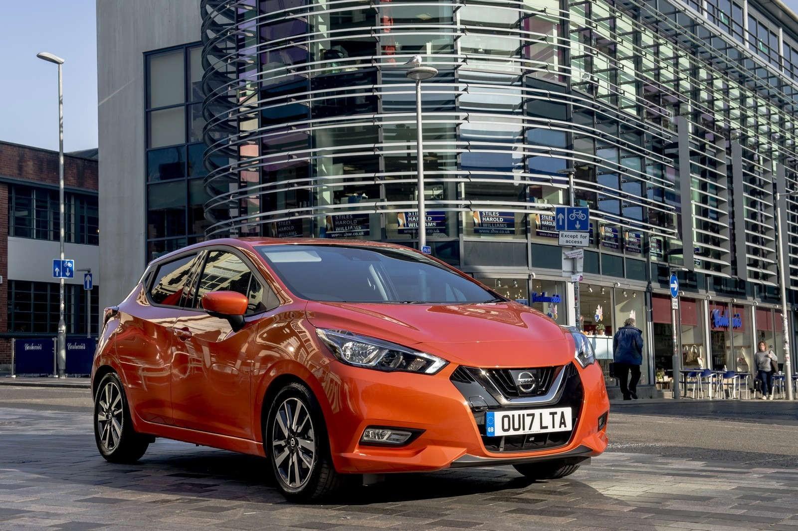 Nissan Micra получила больше технологий в стандартной комплектации 1