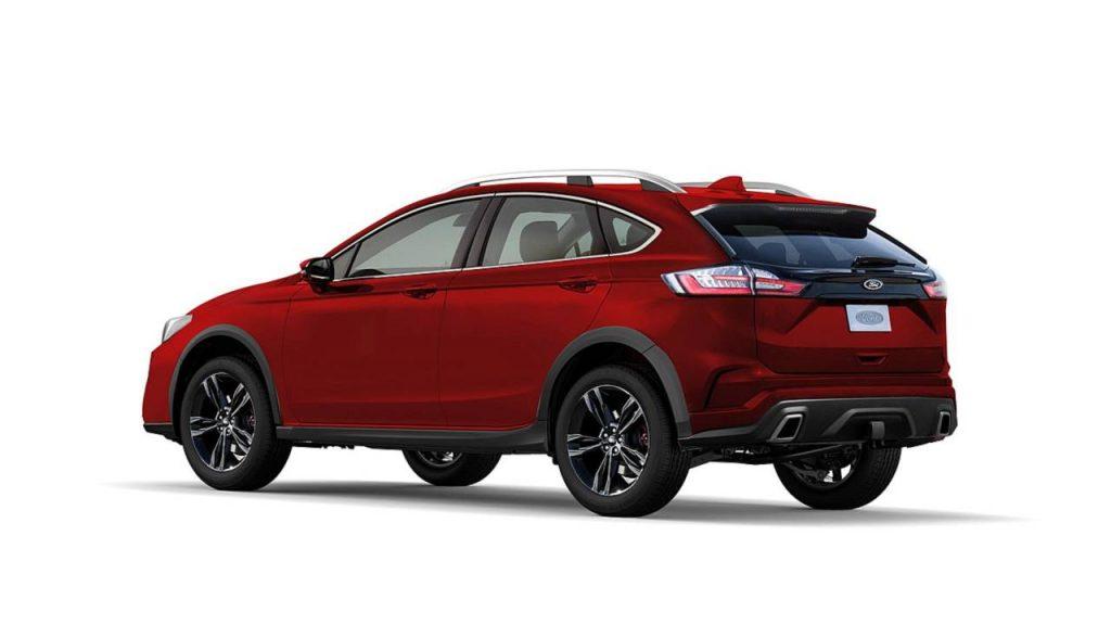 Новый Ford Fusion может составить конкуренцию Subaru Outback 2