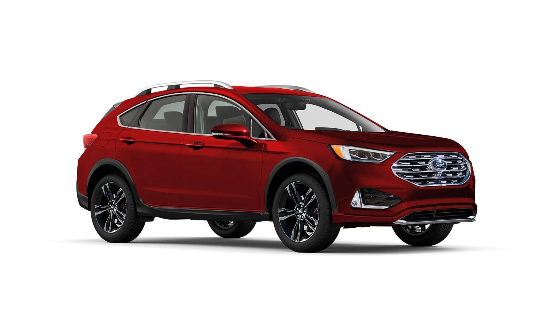 Новый Ford Fusion может составить конкуренцию Subaru Outback 1