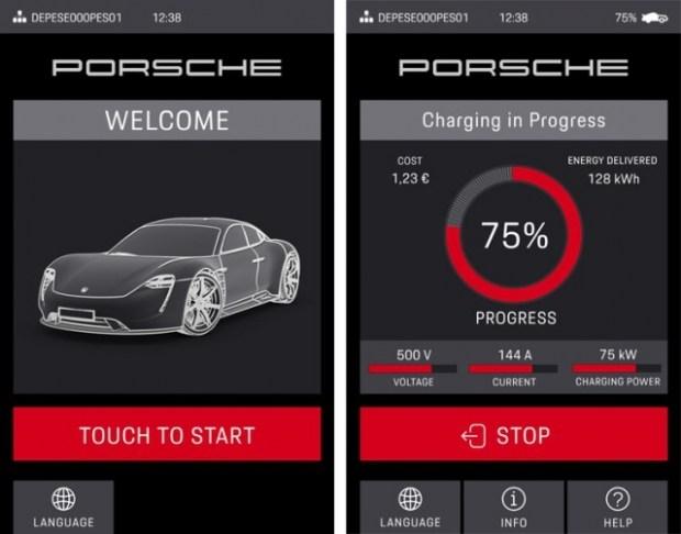 В Porsche запустили собственные сверхскоростные электрозаправки 1