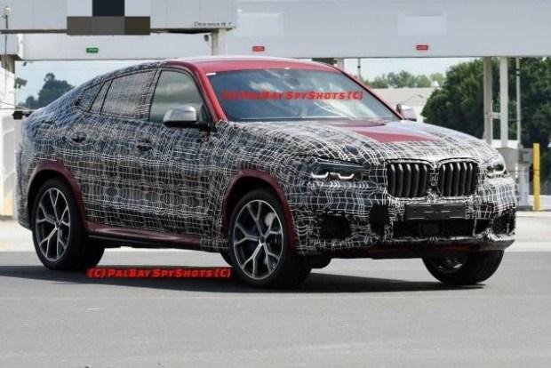 Фотошпионы заметили BMW X6 в спецификации M50i 1