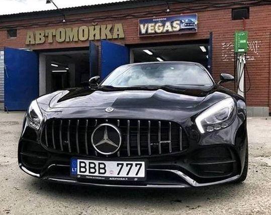 В Украине заметили Mercedes за 140 000 евро на литовских номерах 1