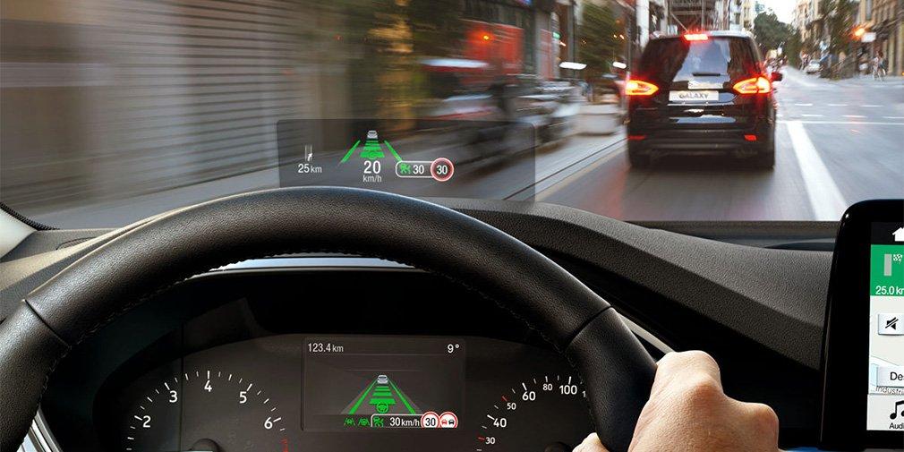 Автомобили Ford получили проекционный дисплей с покрытием от фотолинз 1