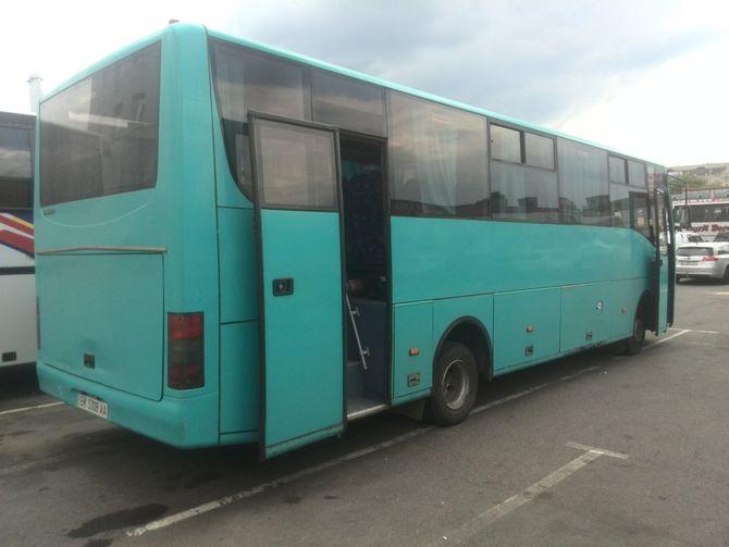 Уникальный автобус А102 Карпаты замечен в Киеве 1