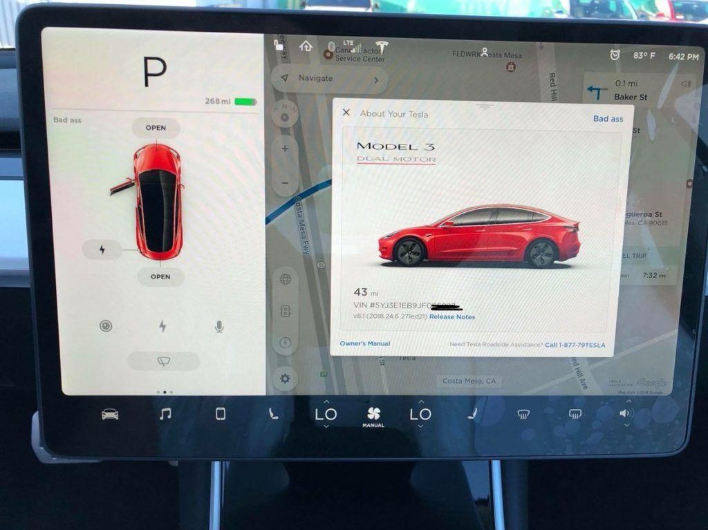 Опубликованы живые фото и видео самой мощной Tesla Model 3 2