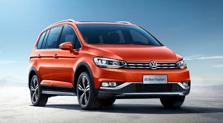Кросс-версия Volkswagen Touran: «внедорожный» обвес и только один мотор 1