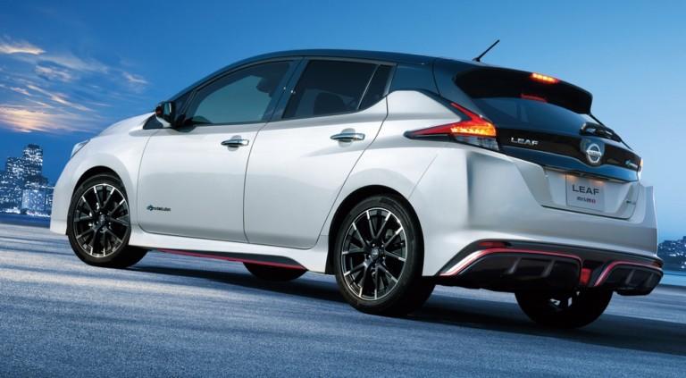 Какой будет самая дорогая версия Nissan Leaf Nismo 1
