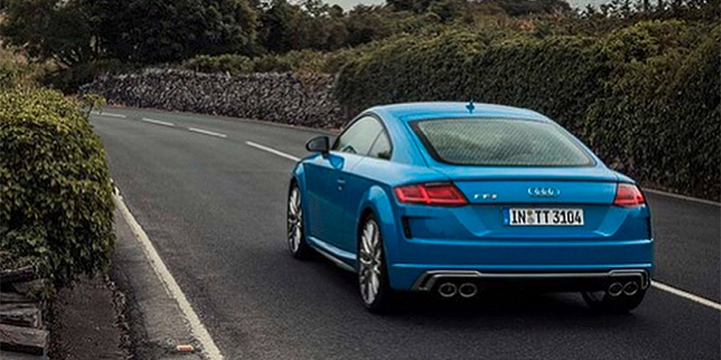 Обновленная Audi TT рассекречена до премьеры 1