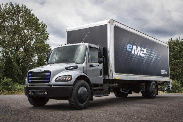 Все грузовики и автобусы компании Daimler получат электромоторы 2