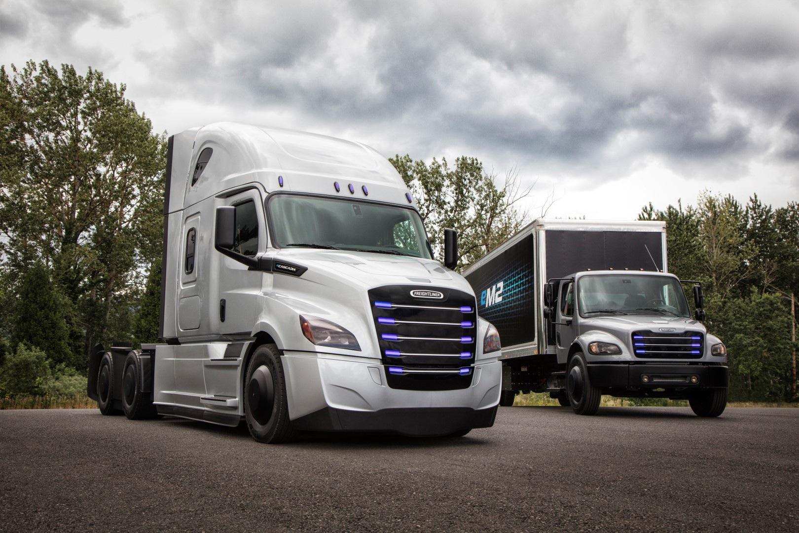 Все грузовики и автобусы компании Daimler получат электромоторы 1