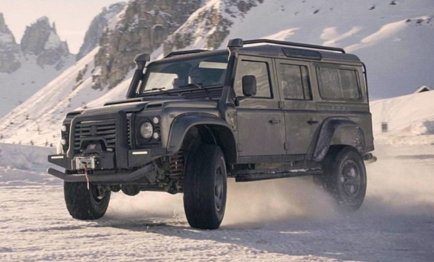 Land Rover Defender «нарядили» в карбон 2