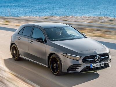 Mercedes-Benz выкатил полноприводный A-класс 1