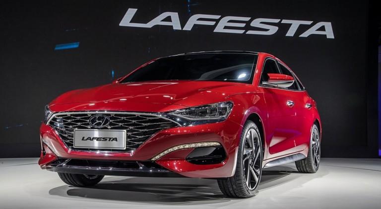 Серийный седан Hyundai Lafesta получил два варианта декора и два турбодвигателя 2