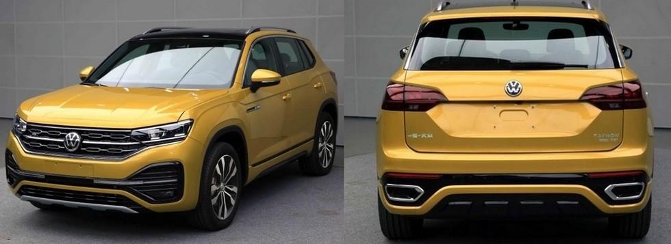 Серийный Volkswagen Tayron получил полный привод и «спортивную» модификацию 1
