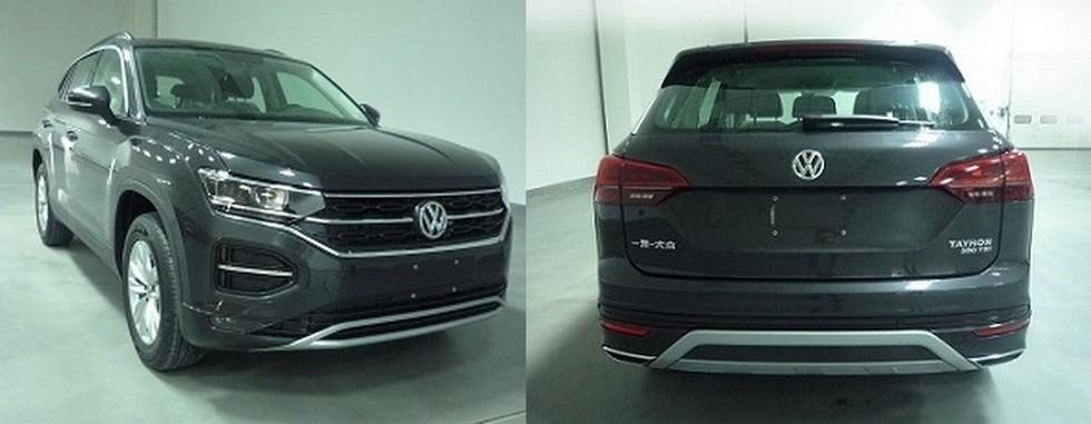 Серийный Volkswagen Tayron получил полный привод и «спортивную» модификацию 2
