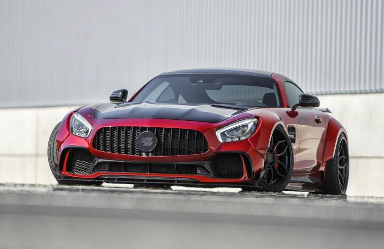 Mercedes-AMG GT S стал шире и ниже 2