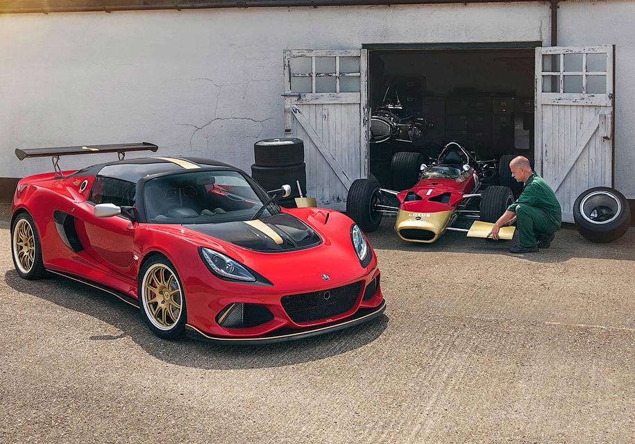 Хардкорным Lotus Exige придали вид чемпионских болидов Формулы-1 1