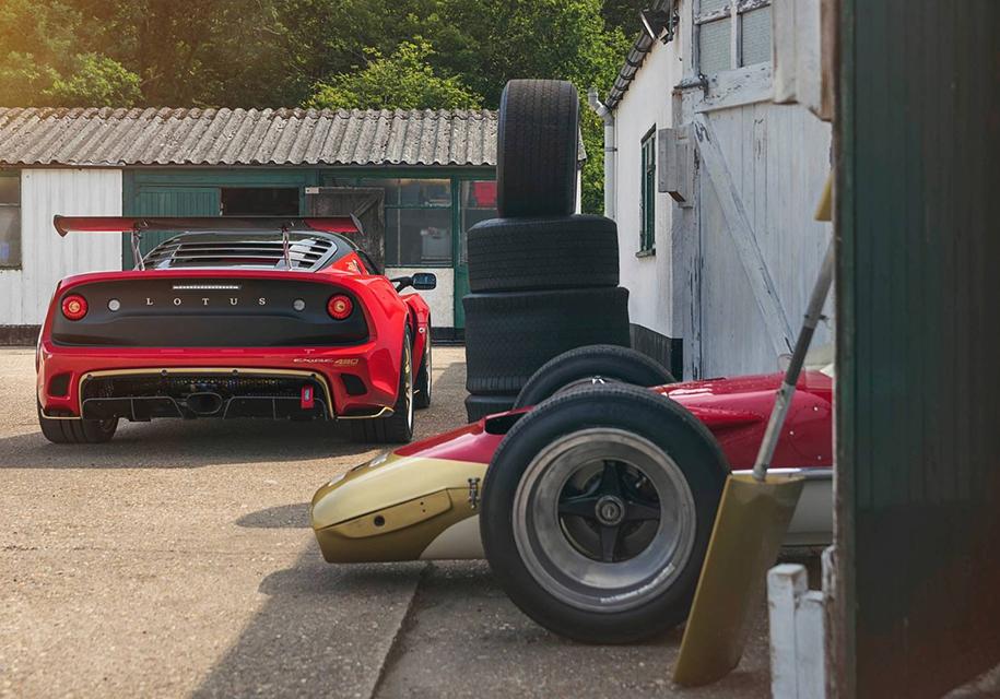 Хардкорным Lotus Exige придали вид чемпионских болидов Формулы-1 2