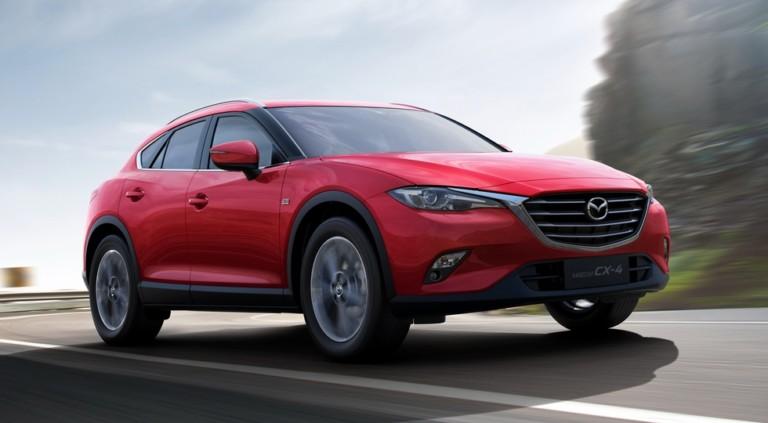 Кросс-купе Mazda CX-4 перестанет быть «эксклюзивом» 1