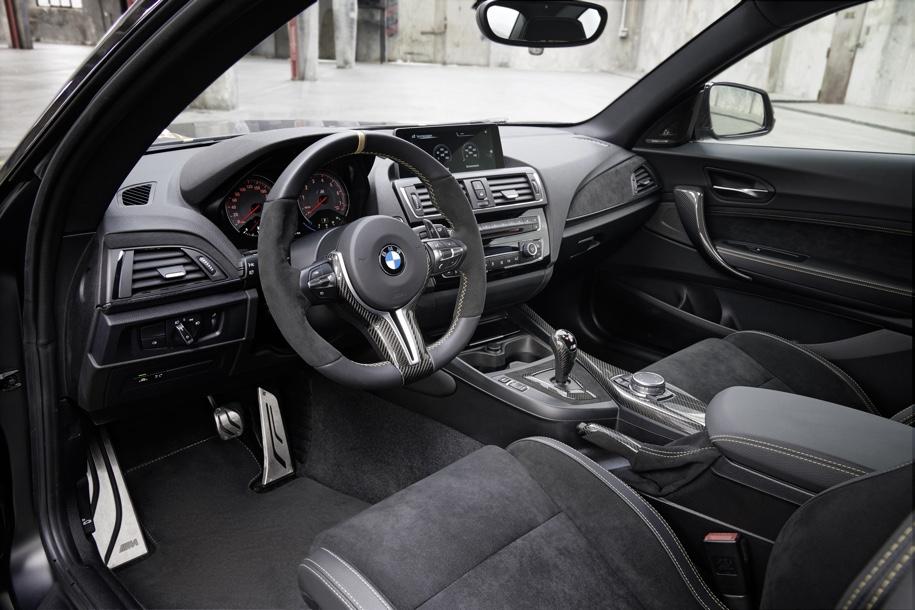 BMW превратила набор запчастей M Performance в сверхлегкое купе M2 4