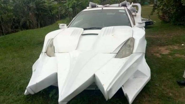 Беспощадный африканский тюнинг превратил Toyota Celica в нечто ужасающее 1